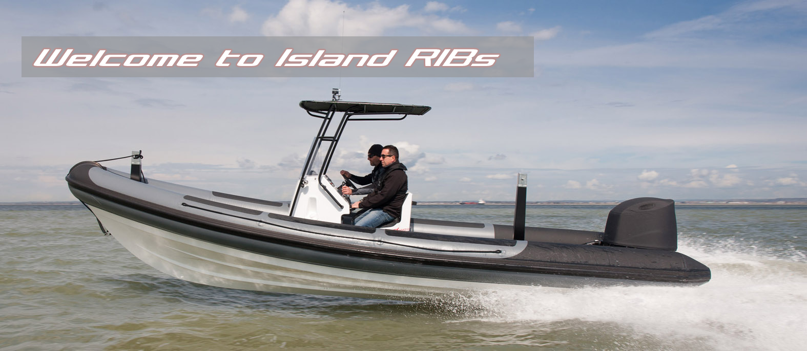 Rigid inflatable boat manufactured by Island RIBs