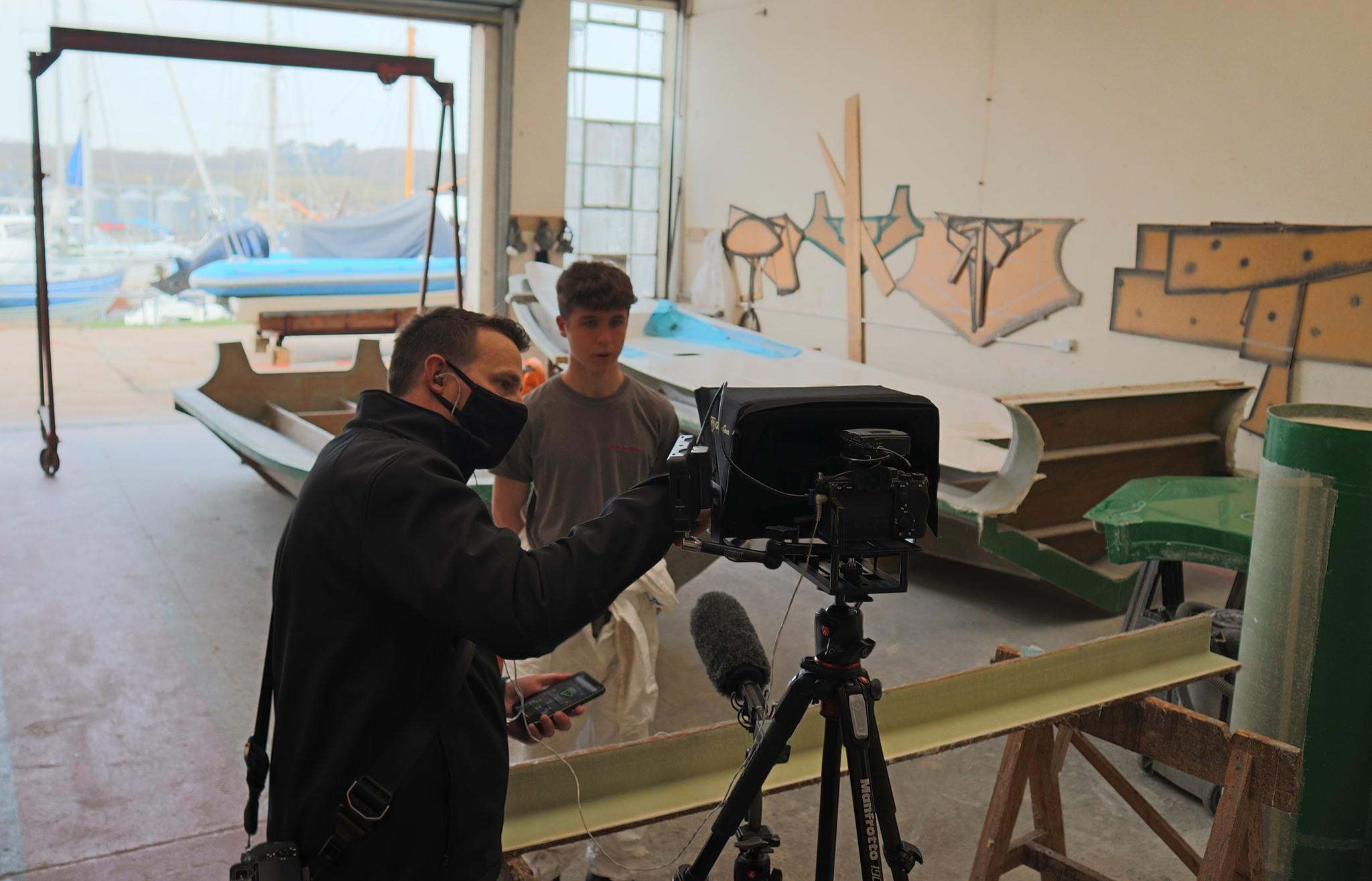 Tom interviewed for Ormiston Academies Trust